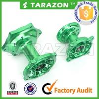 high performance CNC alloy aluminum motorcycle spoke wheel hubs for Kawasaki motocrsoss
