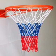 Tri-color Polyester Basketball Net