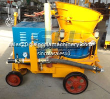 High level reliable products and after-sale service road shotcrete machine