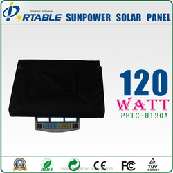 120W Soft Solar Panel , Solar Panel Flexible Waterproof for camping panel solar