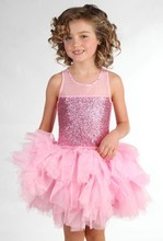 childrens boutique clothing summer dresses organza pink kids clothes
