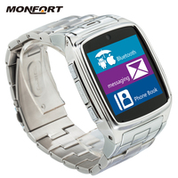 new high quality Business Classic Style android wear Bluetooth sync smart watch and phone
