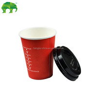 disposable paper cups hot paper coffee cups with lid 8oz alibaba china