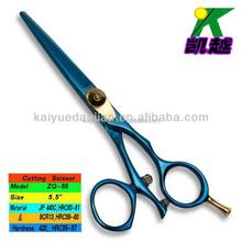 Swivel thumb hairdressing scissor/professional hair scissor set/high quality barber scissor