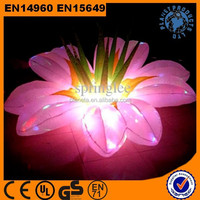 Commercial Advertising Lighting Giant Inflatable Flower Decoration
