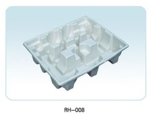 automatic recycled waste paper and eco_friendly fiber molded pulp industrial packaging tray