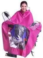 women stylish rain poncho