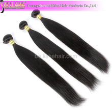 Top quality unprocessedd large stock relaxed silky straight human hair