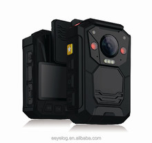 Super high resolution 2304*1296p waterproof and infrared technology police mini camera dvr