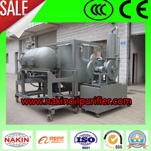 JZS Waste Engine Oil Recovery Plant Convert Black Oil into Transparent Base Oil
