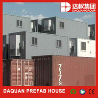 1 bedroom/kitchen/bathroom china mobile container homes lower price