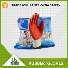 Sales promotion!!!! green/red/blue/yellow color rubber long rubber gloves
