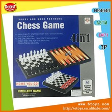 Children Education Toy 4 In 1 Plastic Chess Set educational toy