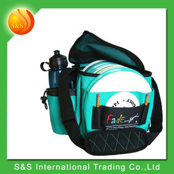 High quality polyester multifunction travel disc golf bag