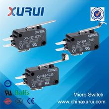 (UL,TUV,CCC,CE,RoHS) 15A/250VAC 3 pins push button zippy micro switch