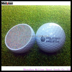 New design, high quality, cheap ,two piece practice golf balls