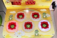 2015con moned golpear martillo de lotería electrónica de la diversión máquina de billetes redemption juego para centro comercial
