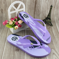 die cut EVA material flip flops women slippers and sandals