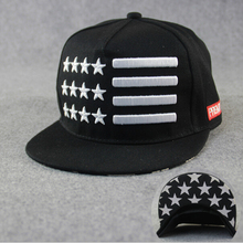 New Arrival Five-Pointed Star 5 Panel Cotton Twill Snapback Caps