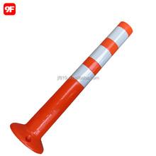 PVC removable plastic bollard flexible delineator post
