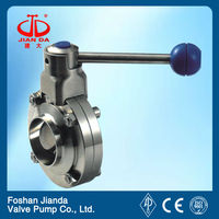high temperature 1 inch butterfly valve ANSI