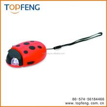 Ladybug or Bumble Be Hand Crank Flashlight