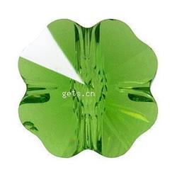 Gets.com crystallized green clover european charms