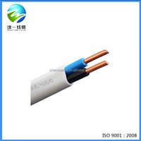 300/500V pvc flat Electric Wire power cable companies