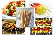 """2015 ISO 6pc 9"""" bbq skewers stainless steel kebabs cook gri Manufacturer in China"""