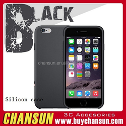 china supplier factory price mobile phone silicon case for iphone 6 plus