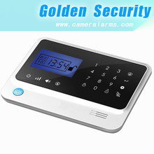 2013 newest touch screen GSM burglar proof alarm system & wireless home burglar alarm system with large LCD display