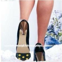 Caliente!!! Caucho de la naturaleza <span class=keywords><strong>crampones</strong></span> de hielo para zapatos de tacón alto