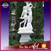 Famous statue marble statue of Apollo and daphne