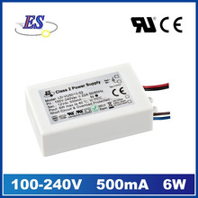 6W 12V AC-DC Constant Voltage LED Driver (CE UL CUL approved) Water proof