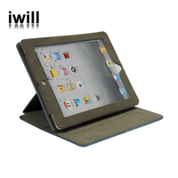 From china Flip Jeans leather case cover for ipad 2 / ipad 3 / ipad 4,new phone case for ipad