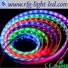 WS2801 IC Digital Addressable RGB LED Dream Color Strip 32LEDs/M Pixel DC5V