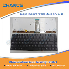 US laptop keyboard for Dell XPS Studio 13 16 1340 1640, without backlit
