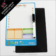 2015 new product promotion high quality magnetic dry wipe whiteboard