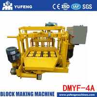 Factory direct sale hollow block machine DMYF-4A(YUFENG)