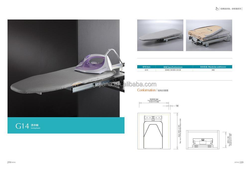 jayna glissement planche repasser pliante pour armoire. Black Bedroom Furniture Sets. Home Design Ideas