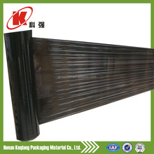 2015 new products black plastic rolls silage wrapping film for hay baler use