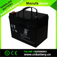 Factory supply directly deep cycle solar batterry 12v 33ah inverter battery