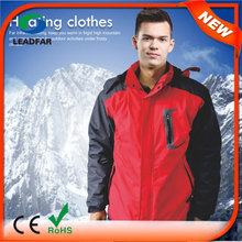 HJ08 7.4v Heated Latest Fashion Windcheater Jacket For Men