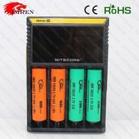 Nitecore D4 LCD charger IMR/Lifepo4/NiMh/NiCd AA AAA battery charger Nitecore D4 charger nitecore charger