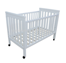 New Zealand pine solid wooden baby crib wooden baby bed new born baby bed