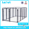 supply high quality dog kennel /iron fence for pets for sale
