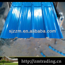 galvanized galvalume color coated metal corrugated roof shingles