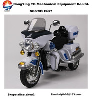 Electric Motorcycle Child Plastic Toy