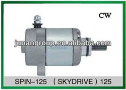 Starter Motor Used For SPIN-125 SKYDRIVE-125 Motorcycle and Scooter parts