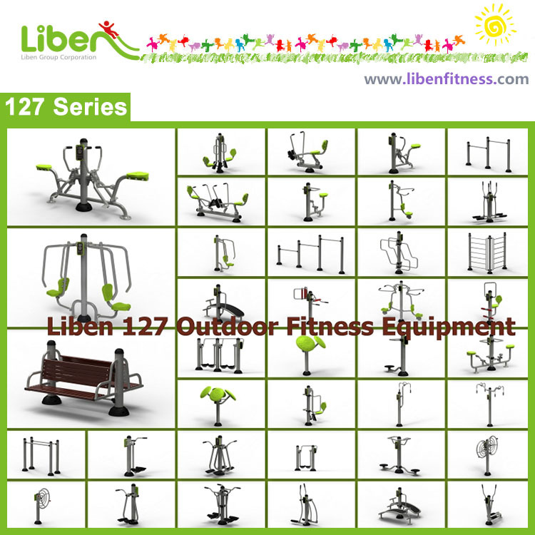 New designs series from outdoor fitness equipment supplier